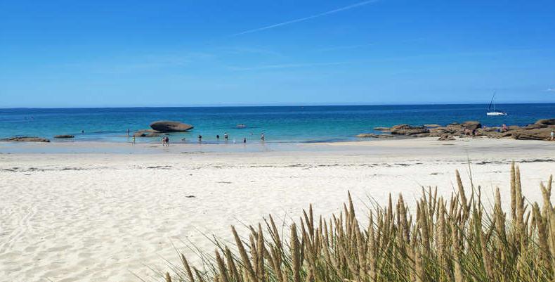 Plage de Trevignon (Finistère)